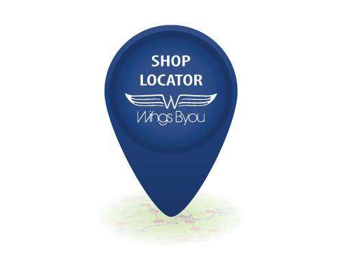 Pinpoint shoplocator Wings Byou
