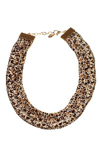 Panter print Collier - Wings Byou